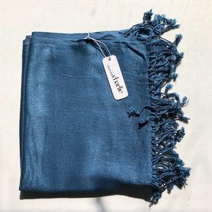 Charming Charlie fringed wrap/scarf